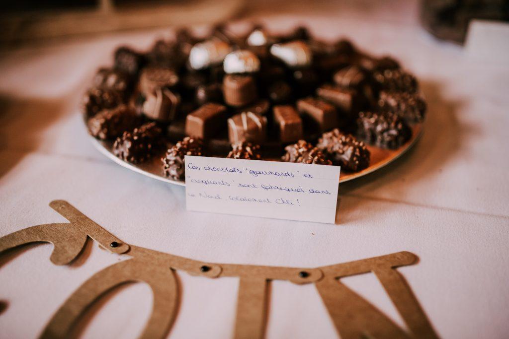 Candy bar de mon mariage ch'ti avec uniquement des spécialités du Nord // Photo : La Cabine de Margaux