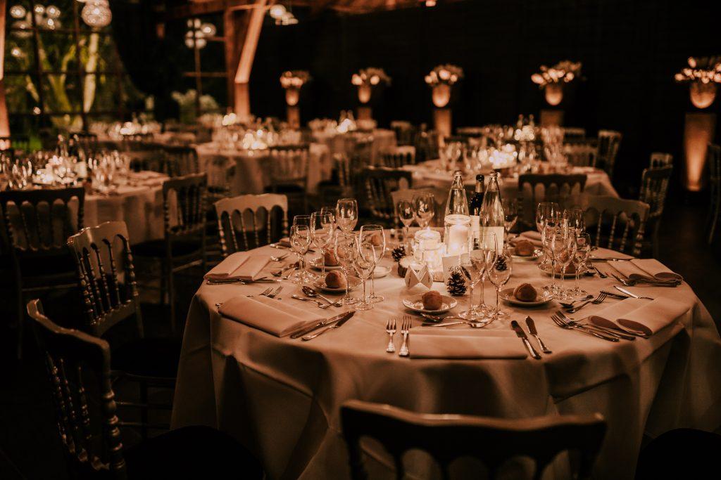 La déco de table de notre mariage hivernal et chti ! // Photo : La Cabine de Margaux