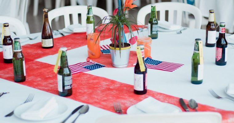 L'épisode de la décoration et du plan de table