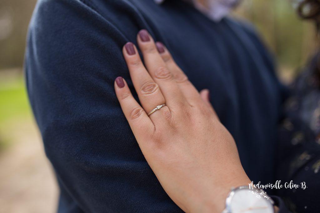 Ma demande en mariage... le jour de ma césarienne !