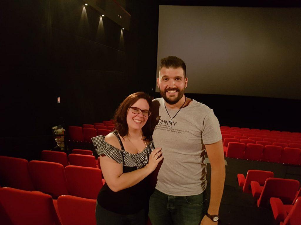 Une demande en mariage... au cinéma !