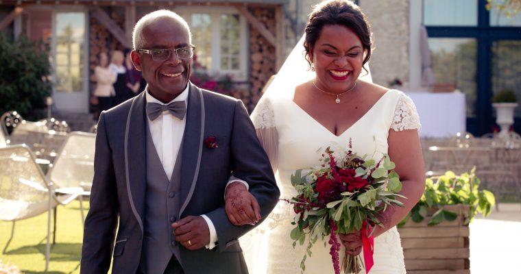 Mon lumineux mariage d'été entre passion et émotion : notre cérémonie d'engagement – Partie 1