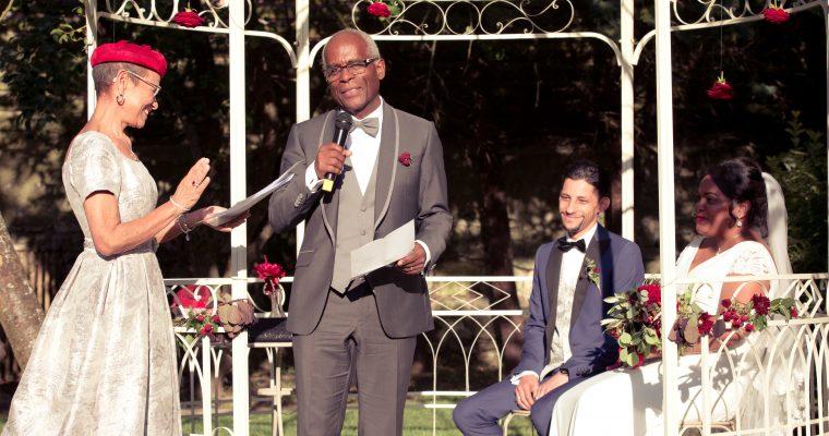Mon lumineux mariage d'été entre passion et émotion : la cérémonie d'engagement – Partie 2