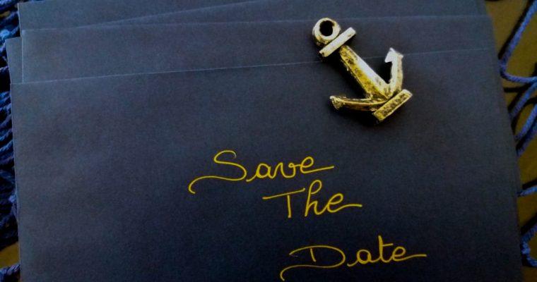 Pourquoi (et comment) nous avons fait un save-the-date pour le mariage