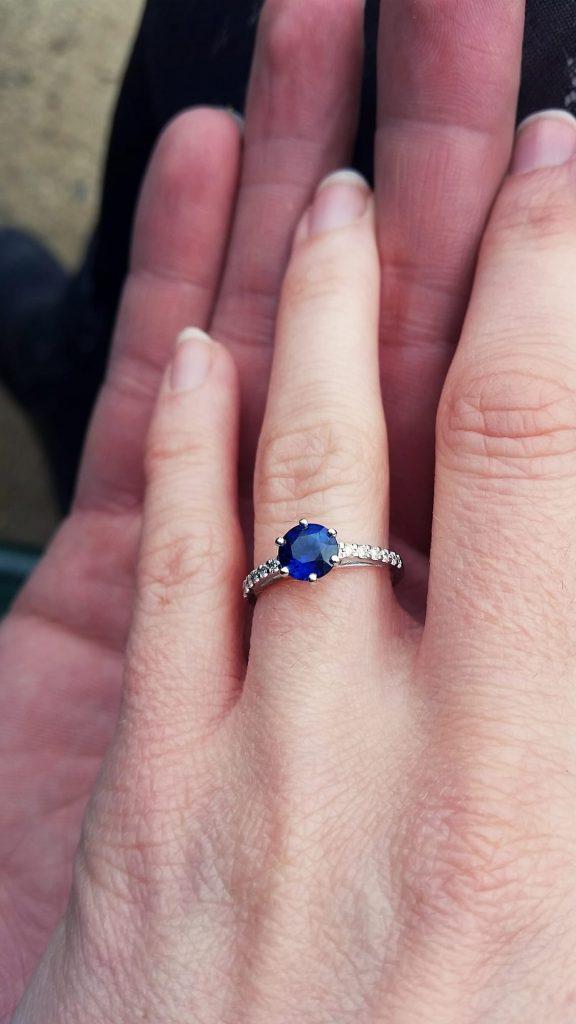 La demande en mariage : le récit par Monsieur !