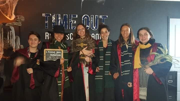 Un EVJF sur le thème Harry Potter