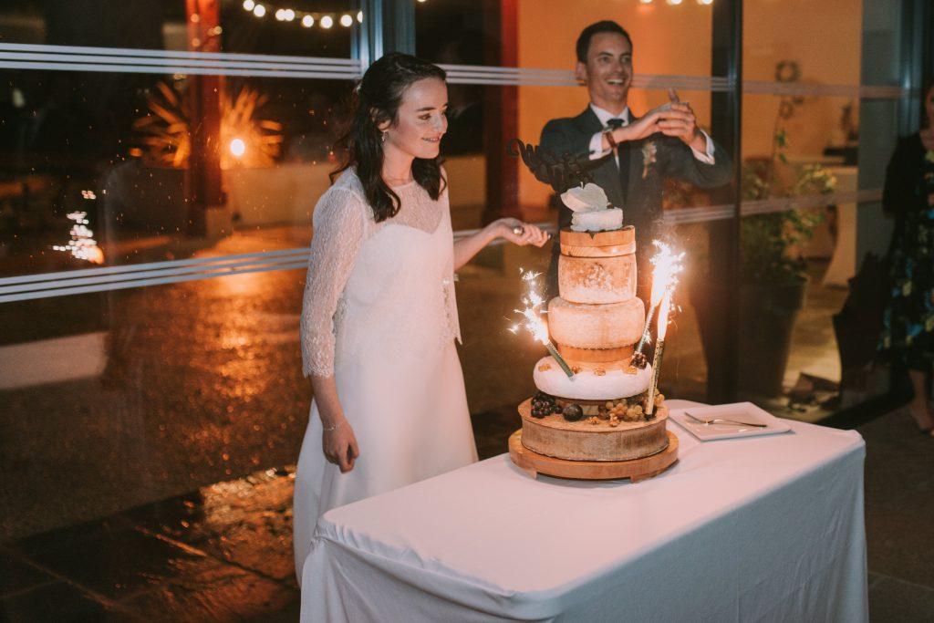 Le dîner du mariage et ses animations // Photo : Sara Cuadrado