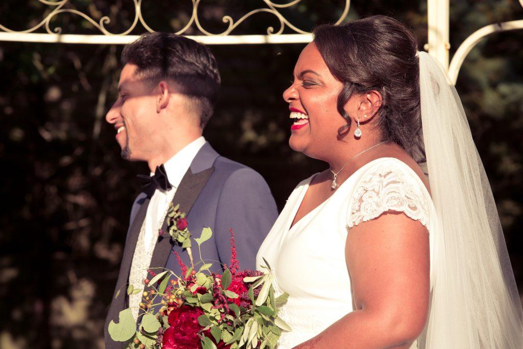 Nos voeux et échanges d'alliance lors de la cérémonie laïque // Photo : Delphine Persyn - Nature Films Photography