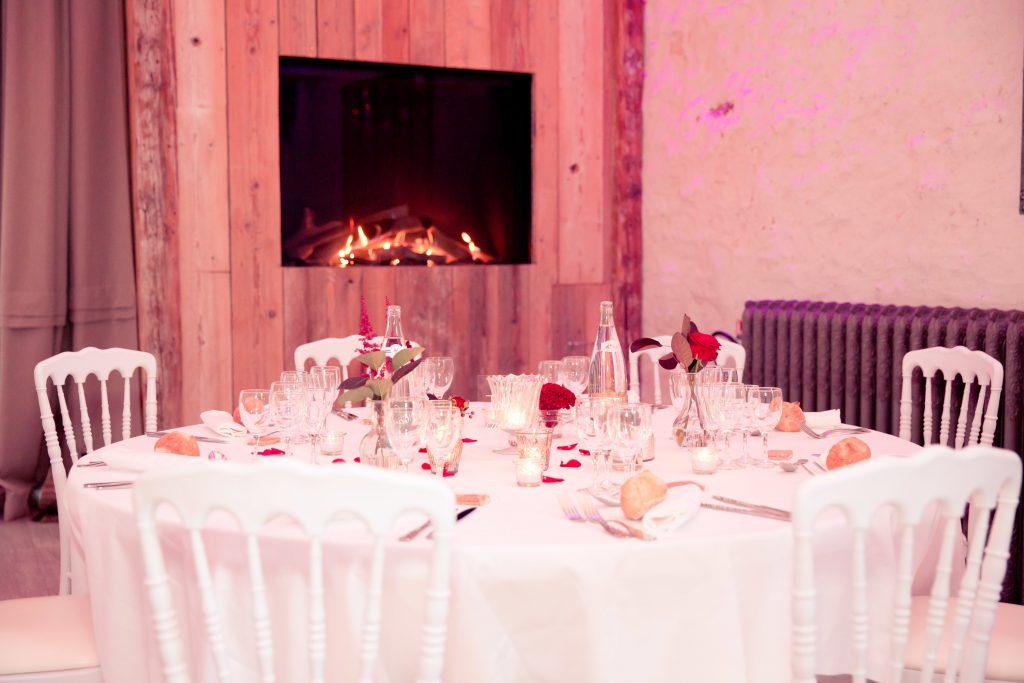 Déco de notre salle de mariage // Photo : Delphine Persyn - Nature Films Photography