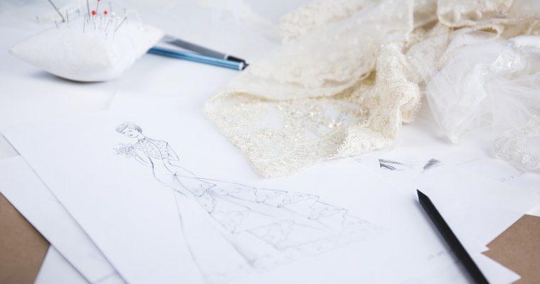 De la confection de ma robe pour l'église et la réception – Partie 2