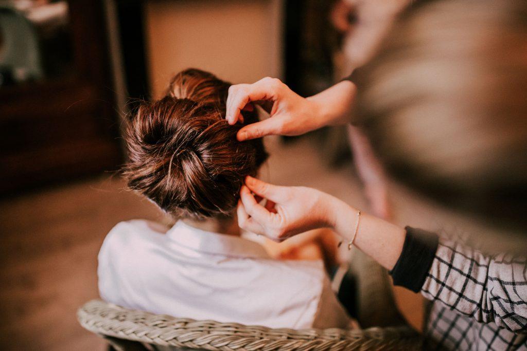 La coiffure et le maquillage de mon mariage // Photo : La Cabine de Margaux