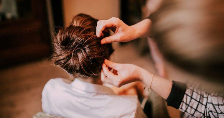 Mon mariage « pluvieux » et heureux au cœur de l'hiver chti : jour J, coiffure et mise en beauté
