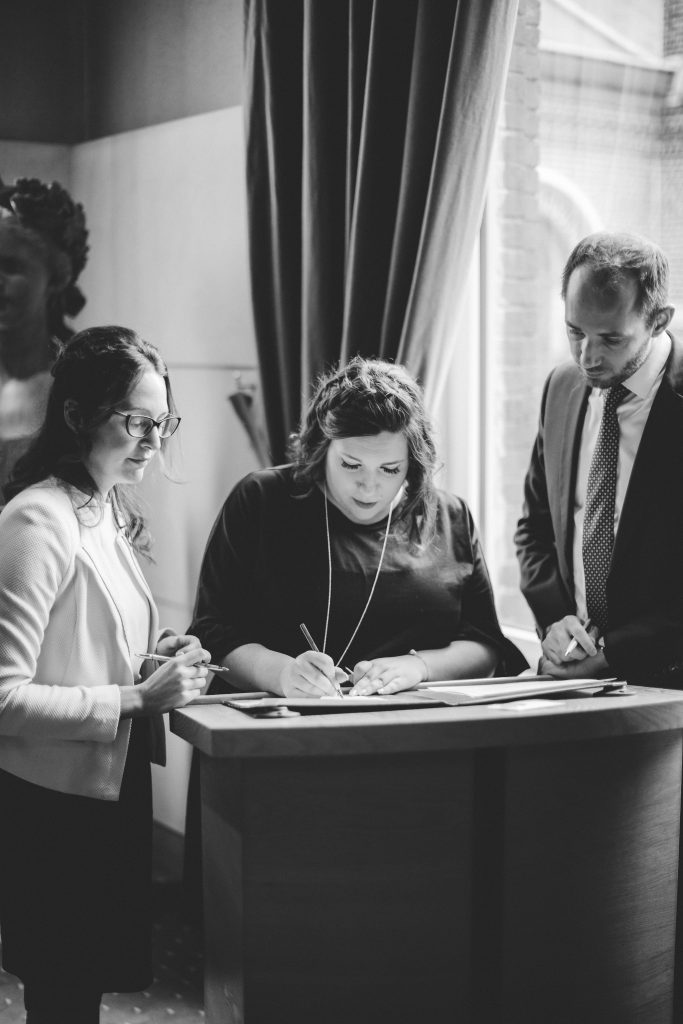 Notre cérémonie civile chti // Photo : La Cabine de Margaux