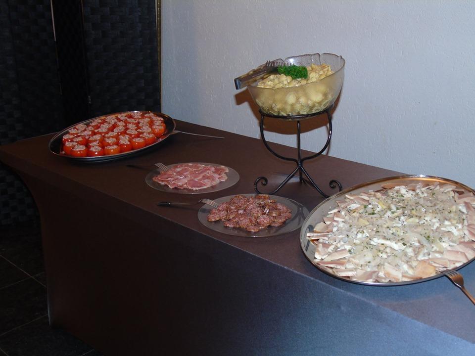 Les repas et la soirée de notre mariage féerique