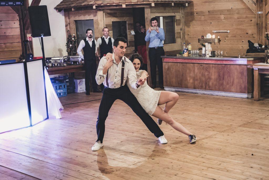 Notre ouverture de bal sur un charleston // Photo : Pauline Kupper Photographie