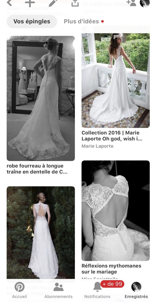 Les essayages de ma robe de mariée