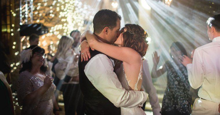 Le mariage franco britannique, thème Gatsby, de Julie