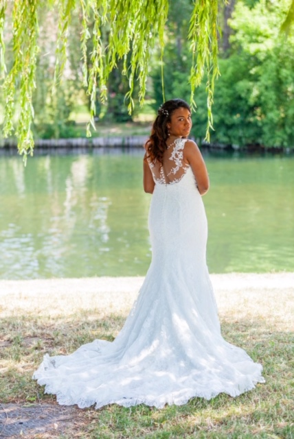 Session first-look pour les mariés ! // Photo : Passion Foto