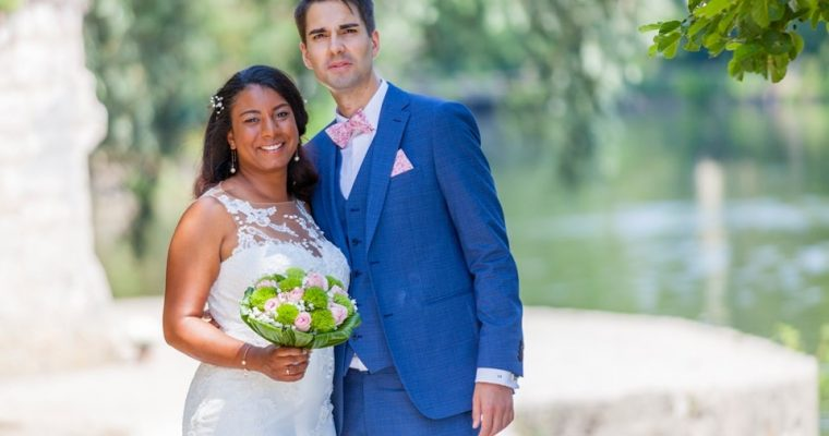 Mon mariage chic et convivial : le first-look