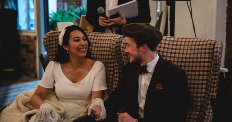 Le mariage franco-irlandais vintage et musical de Canelle