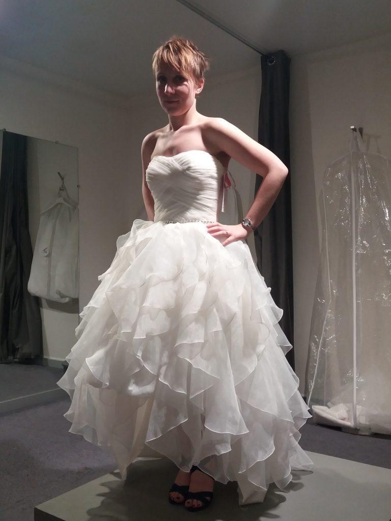 Les doutes à propos de ma robe de mariée retouchée