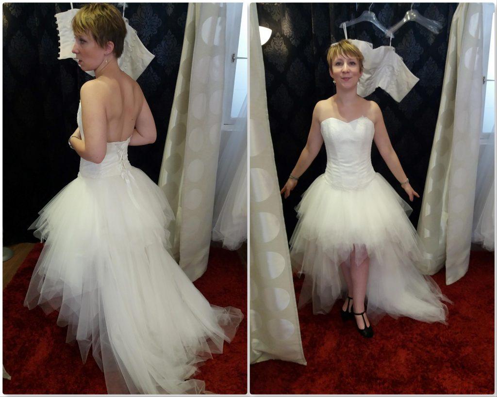 Mes essayages pour une robe courte, rock et asymétrique !