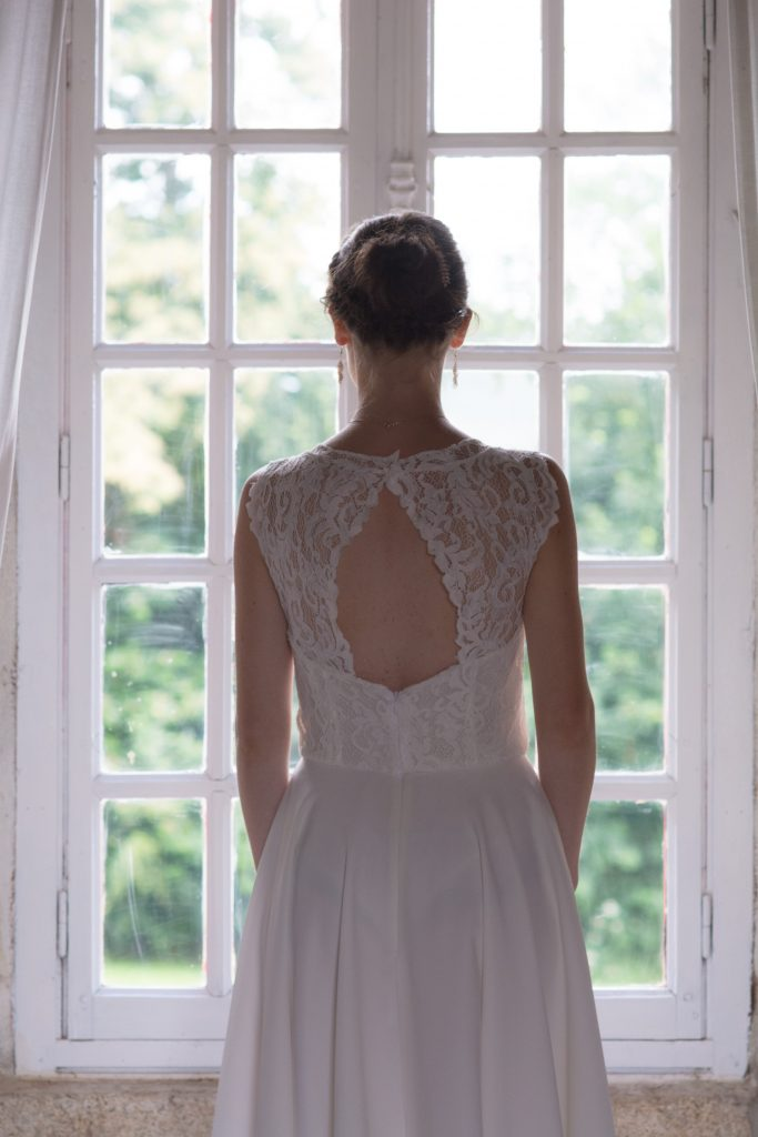 Coudre ma robe de mariée // Photo : Mathieu Lavenu