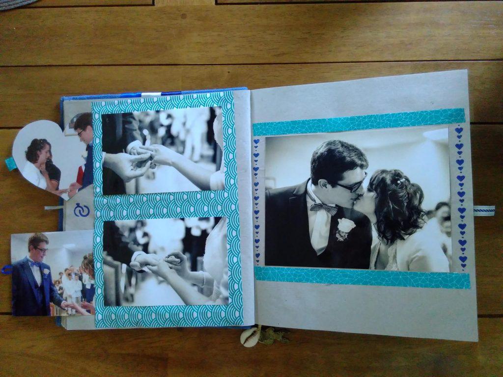 L'album photo de notre mariage