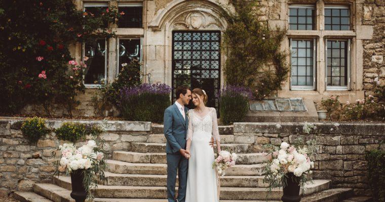 Le mariage romantique de Marine, dans un château en Lorraine