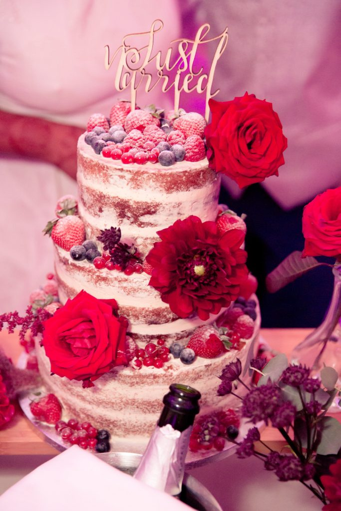 Le wedding-cake de notre mariage // Photo : Delphine Persyn - Nature Films Photography