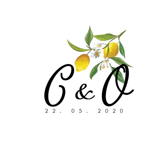 Le logo de notre mariage