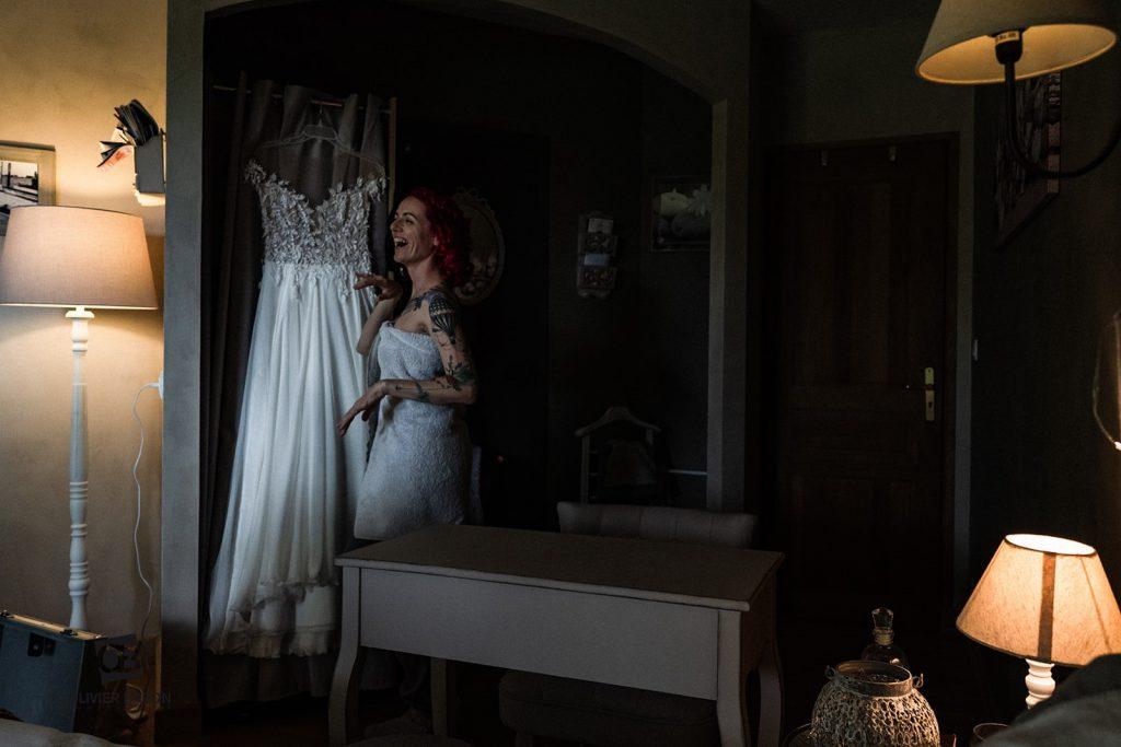 Mise en beauté et préparatifs le jour J de mon mariage // Photo : Olivier Baron