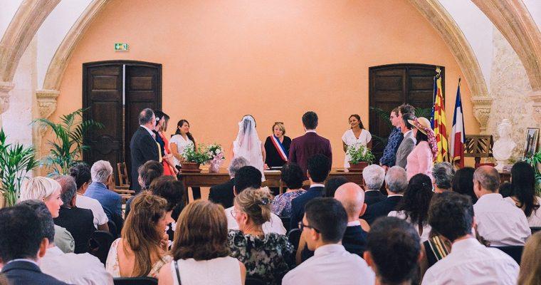 Mon mariage d'officialisation en Provence : la mairie