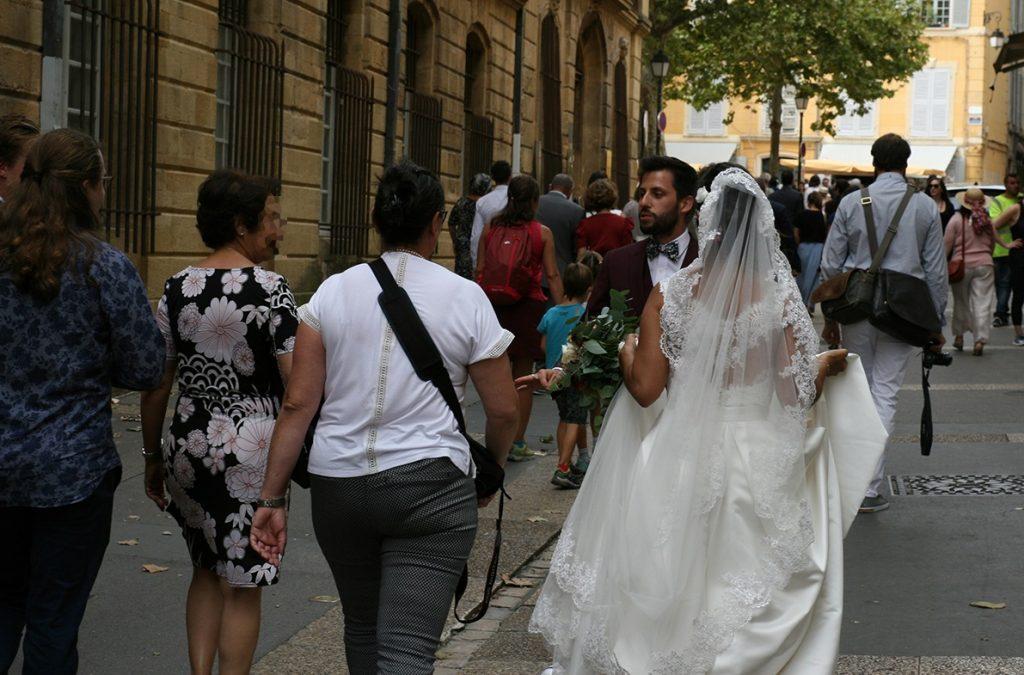 Notre cérémonie civile à Aix-en-Provence