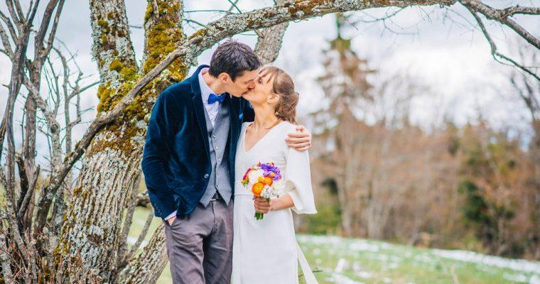 Le mariage zéro-déchet et en toute simplicité de Tatiana