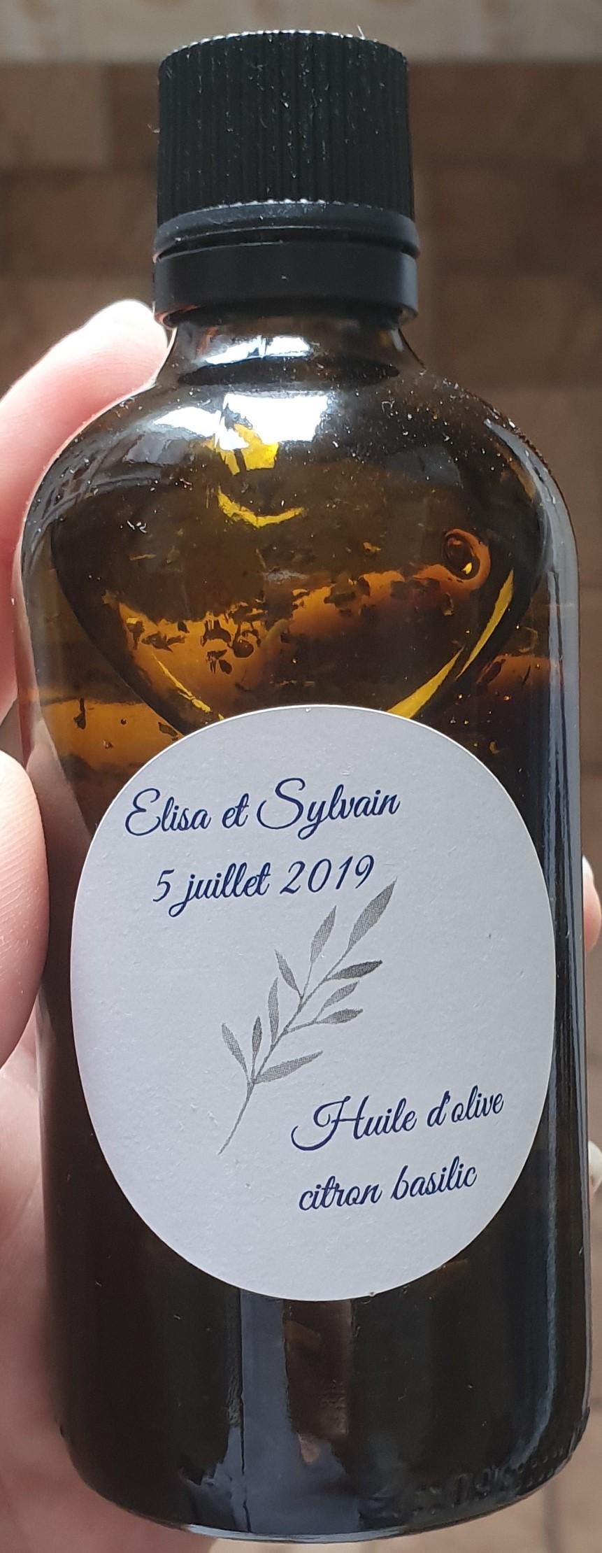 De l'huile d'olive aromatisée comme cadeau d'invités pour ton mariage