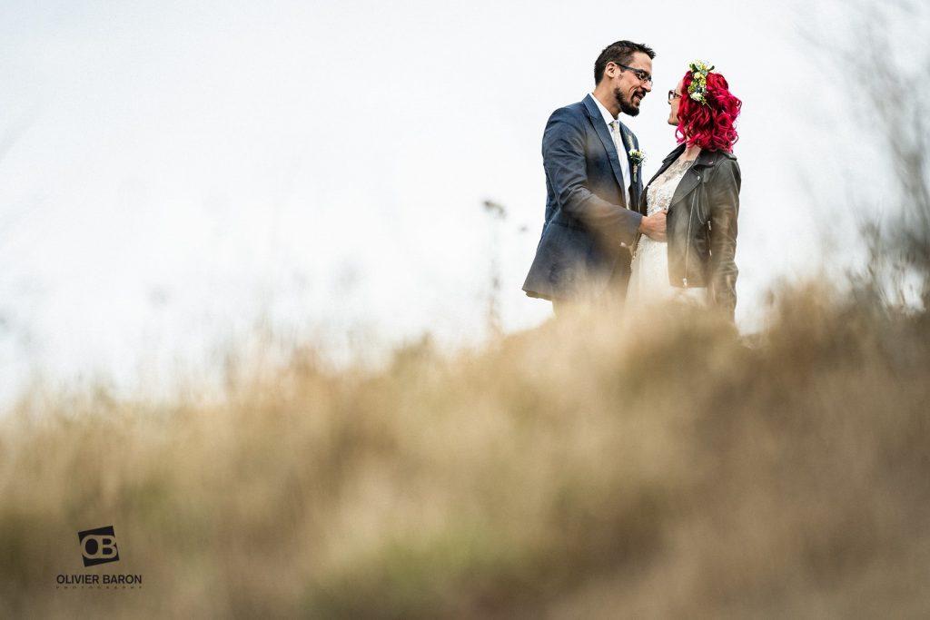 La découverte des mariés // Photo : Olivier Baron