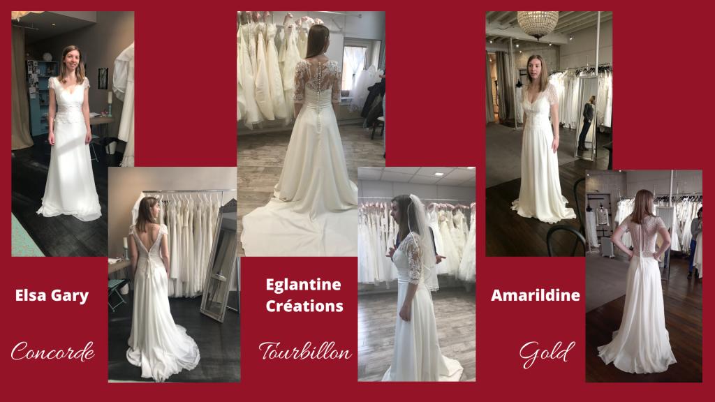 Coup de cœur pour 3 robes : laquelle choisir ?