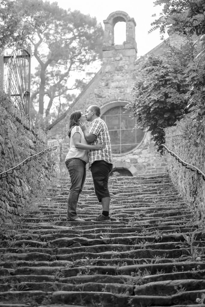 Notre séance photo d'engagement // Photo : Steeve Tadieu