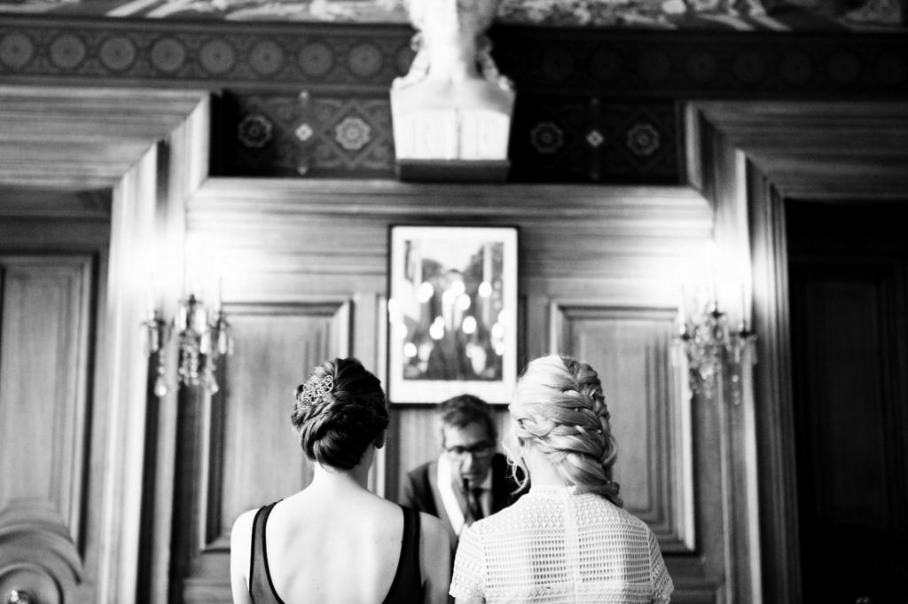 Nos préparatifs et la cérémonie civile à Paris // Photo : Julie Lilly Marie