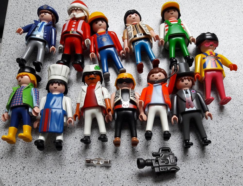 Nos DIY pour le mariage : les boutonnières personnalisées avec des Playmobils