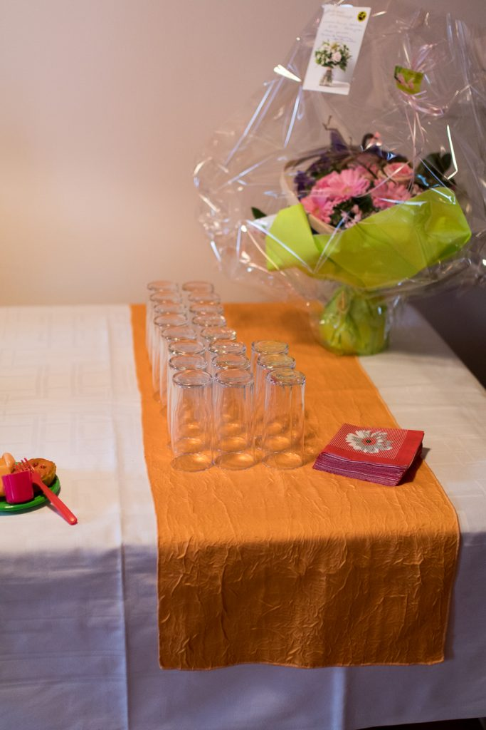 Déroulé du vin d'honneur après la cérémonie civile // Photo : Seridnna photographe