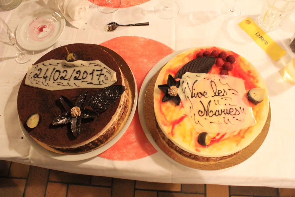 Nos desserts du repas de mariage