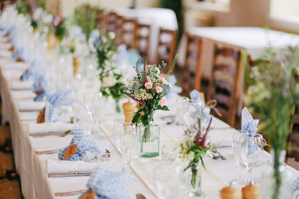 Une décoration de mariage à petit prix