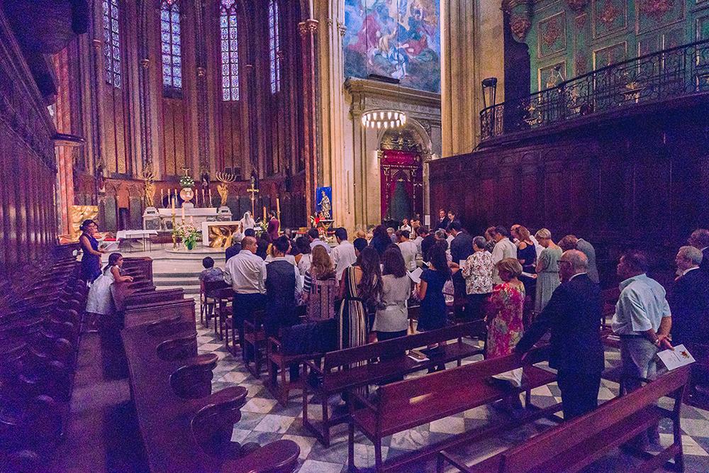 Notre cérémonie religieuse en Provence // Photo : YM Photography