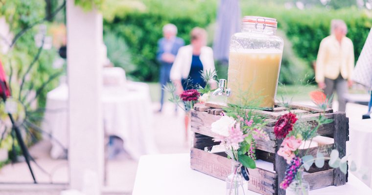 Mon mariage d'officialisation en Provence : le cocktail