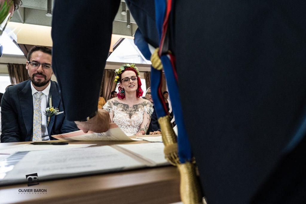 Notre cérémonie civile // Photo : Olivier Baron