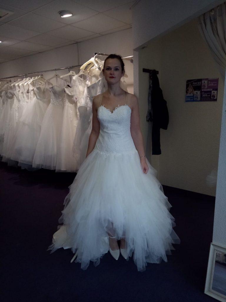 Mes essayages de robes de mariées à Nantes
