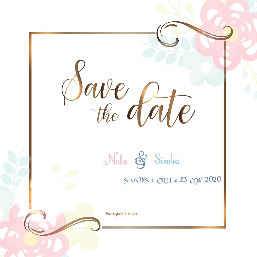 Annoncer notre mariage : du save-the-date aux faire-part