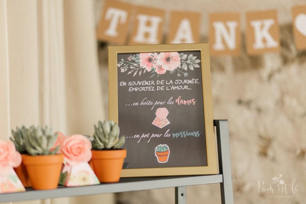 Idée pour mes cadeaux d'invités au mariage : des graines et des plantes !!